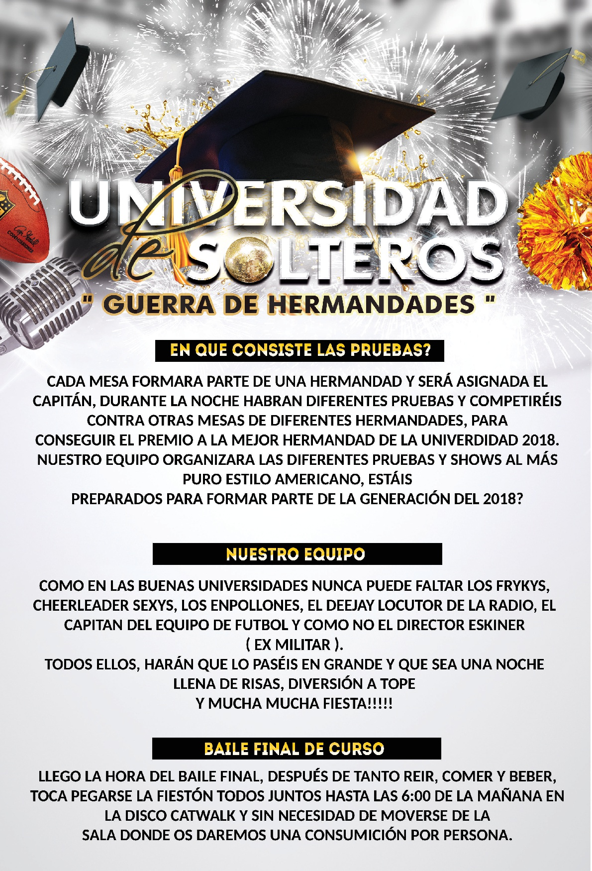 Universidad de solteros Catwalk