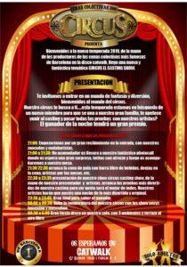 Circus show Catwalk