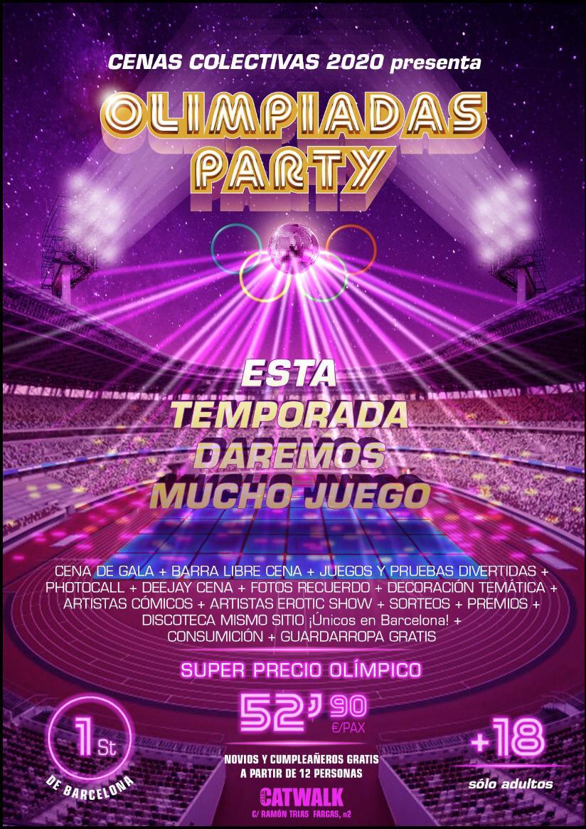 OLIMPIADAS PARTY